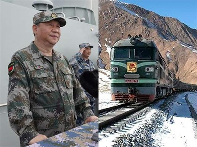 china to begin work on rail section close to india s border