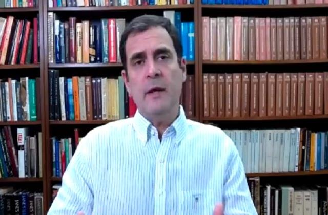 rahul gandhi called demonetization a national tragedy