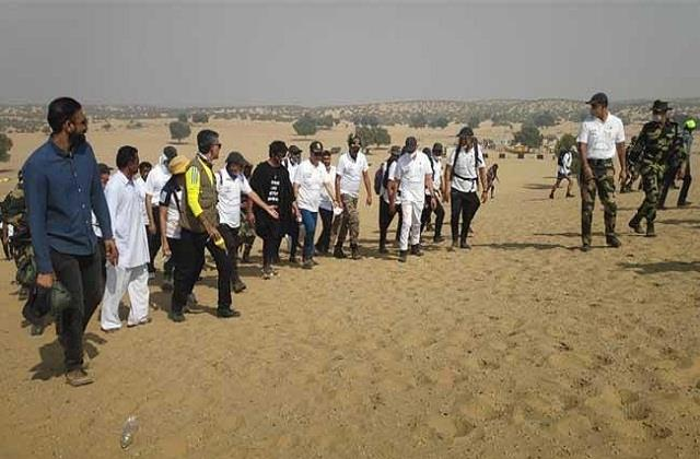 itbp jawans complete 200 km march in 50 hours