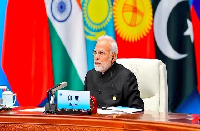 pm modi to lead indian delegation to sco summit