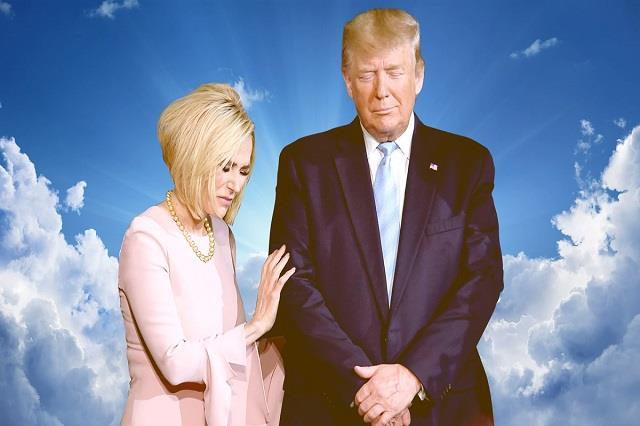 us election trump s spiritual advisor leads bizarre prayer service for win