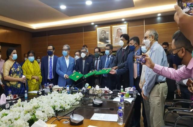 corona vaccine deals 3 crore dose with serum institute of bangladesh
