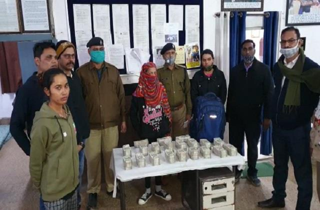 rpf recovered 50 lakh cash from the girl