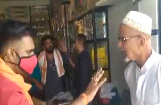 muslim shopkeepers will be threatened with selling firecrackers
