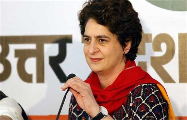 priyanka gandhi s taunt bjp will gift 6 airports to its capitalist