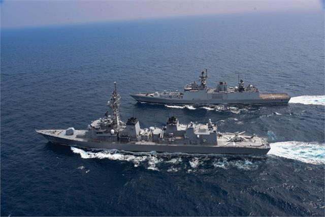 us supercarrier nimitz to perform feat with ins vikramaditya in malabar