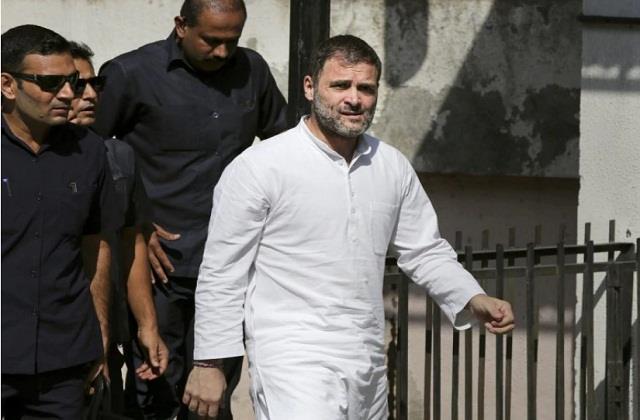 rahul gandhi visit to jaisalmer canceled
