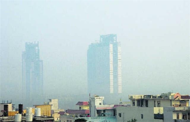 gurugram the most polluted city in ncr recorded aqi 314