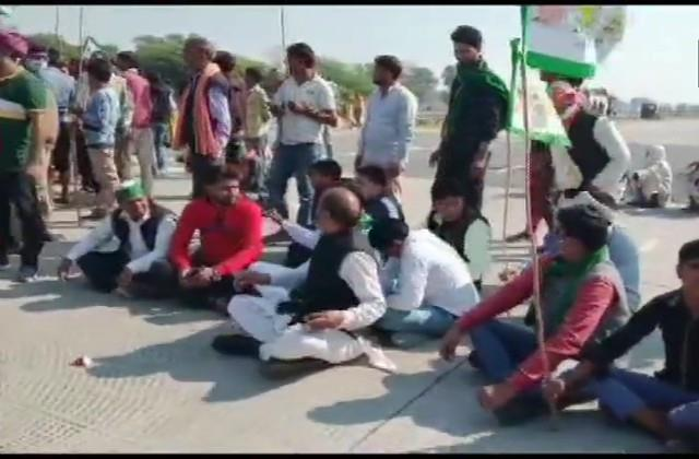 after punjab and haryana now up farmers get on the streets