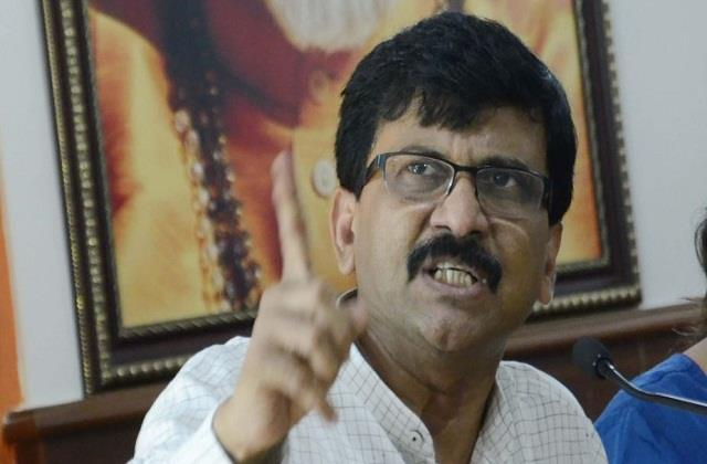 shiv sena angry at bjp in arnab goswami case