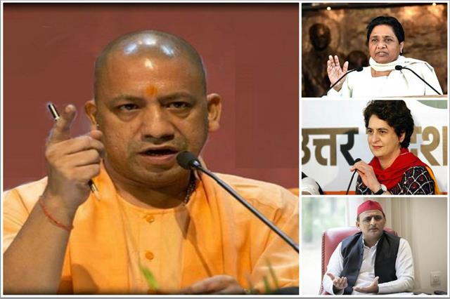 up by election yogi s magic bjp on clean sweep