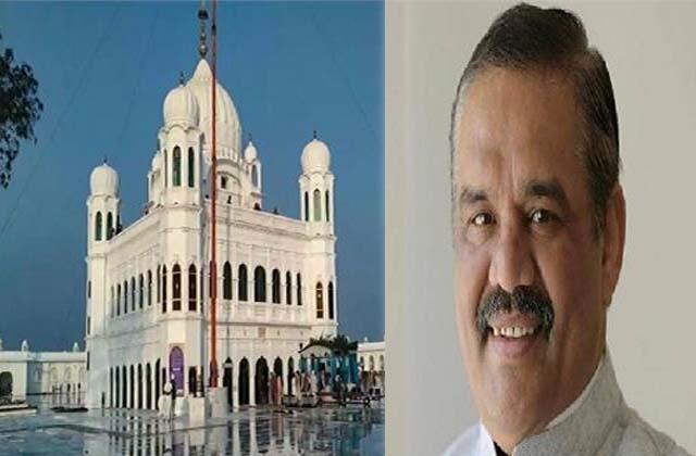sampla turned over the claim of opening of kartarpur corridor