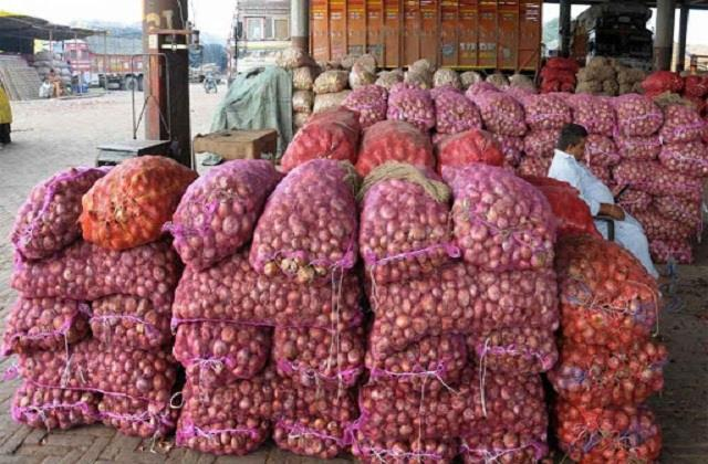custom turned down the proposal to send afghani onions in jute bags