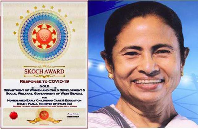 mamata government wins skoch award