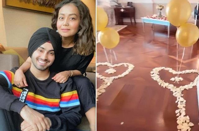 हनीमून मनाने पति संग दुबई पहुंची नेहा, फूलों से सजाया गया नेहूप्रीत का कमरा
