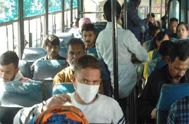 corona alert punjab buses