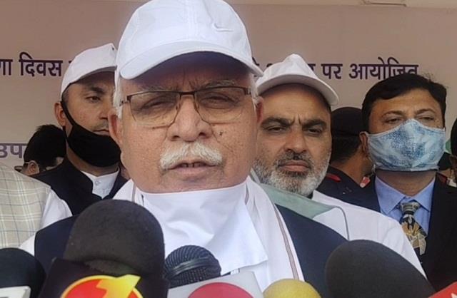 cm manohar warning on farmers  chakka jam on 5 november