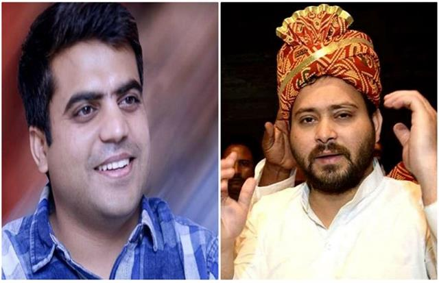 brother in law tej pratap congratulates tejashwi on his birthday