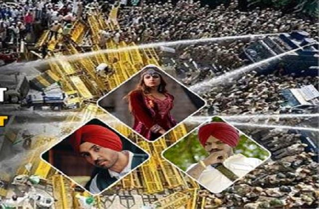punjab singer support with farmer