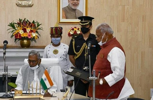 jitan ram manjhi became the pro tem speaker