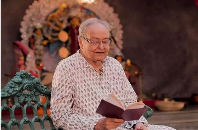 pm modi expressed grief over soumitra chatterjee death
