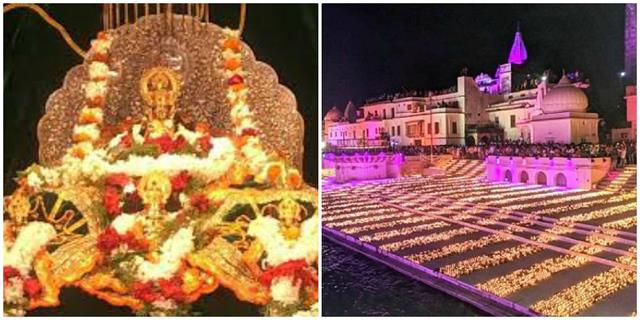 deepawali first time 11 thousand lamps will be lite in temple of ramlala