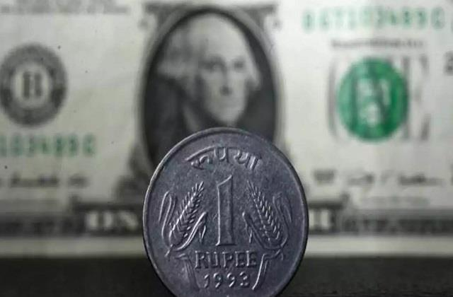 rupee rises 40 paise to close at 74 36 against us dollar
