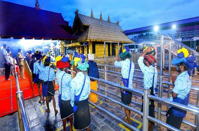 39 people have come to corona so far in sabarimala