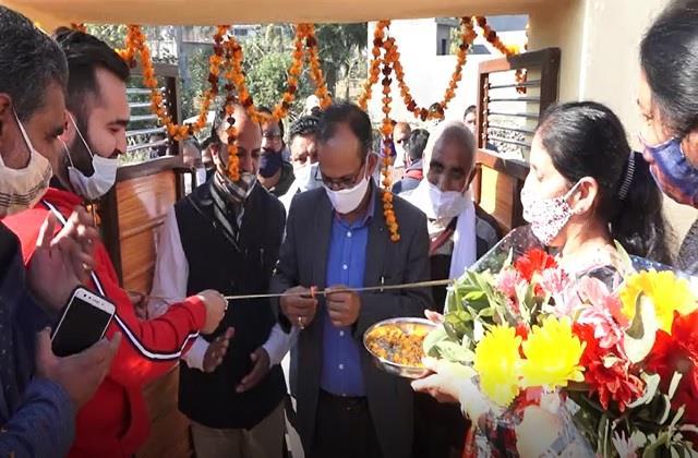 satti inaugurates beautification of lalsingi primary school
