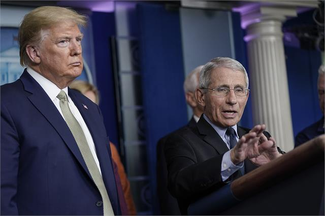 trump suggests he might fire fauci after election