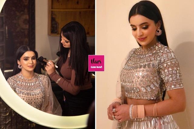 Tania Makeup Artist से मेकओवर लेने पहुंची टीवी एक्ट्रेस अंकिता शर्मा
