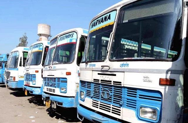 haryana government stops bus services for punjab