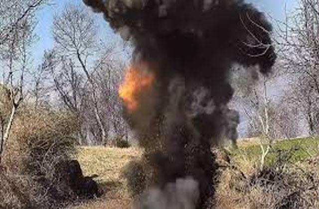grenade blast in poonch army officer injured