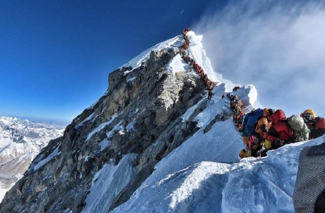 nepal will announce the height of mount everest