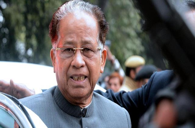 minor improvement in health of former assam cm tarun gogoi