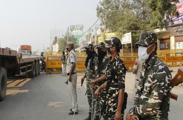 delhi chalo march police did not allow farmers to come to delhi