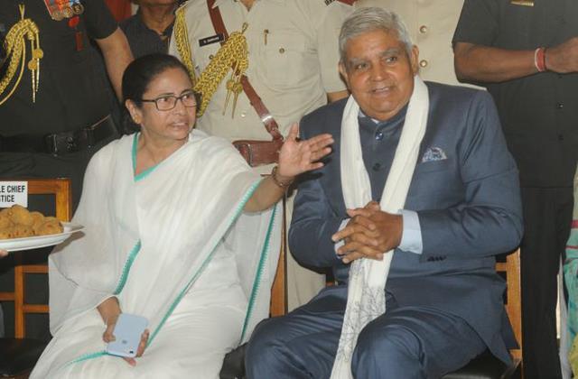 governor dhankar attacked on mamata banerjee
