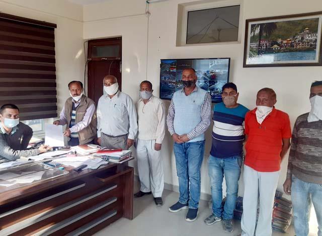 raise demand to make dadaur ward a panchayat