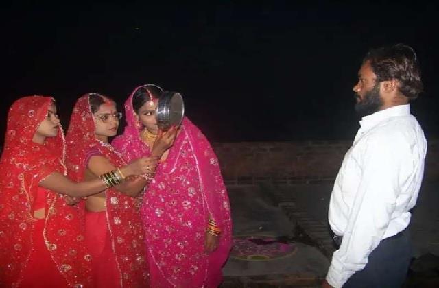 करवाचौथ ऐसा भी! एक पति के लिए 3 पत्नियों ने रखा व्रत, मानती हैं राजा दशरथ का अवतार