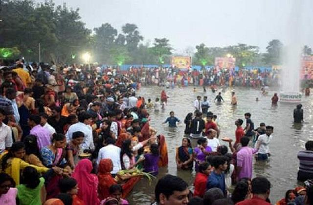 two people drowned during chhath puja in begusarai