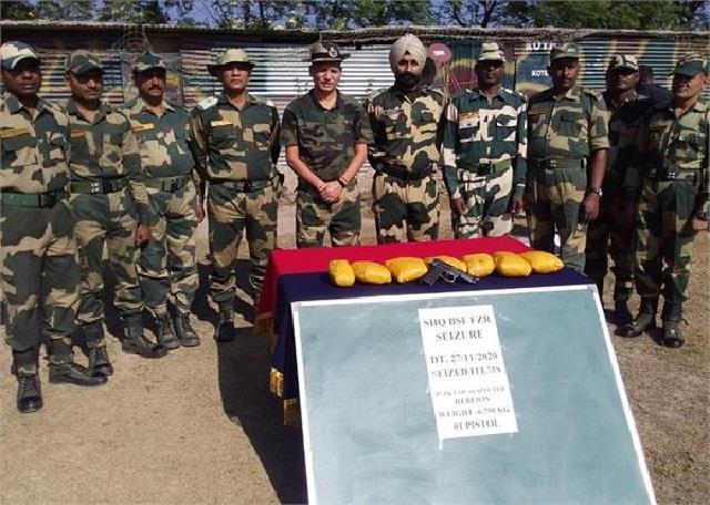 33 million 25 lakh drug recovered today