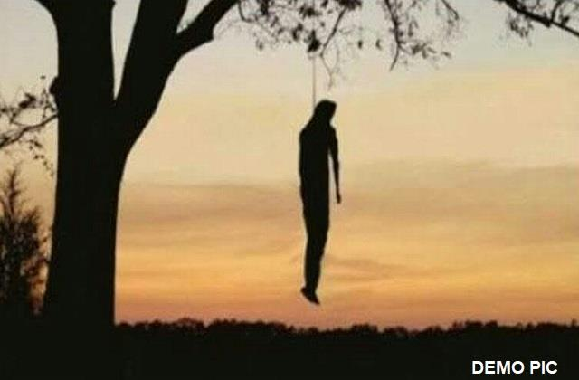 body of 21 year old youth found hanging from tree in bhagalpur