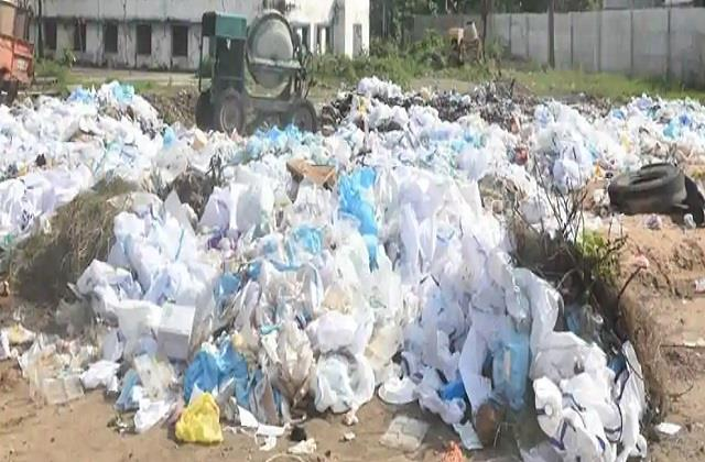 around 160 tonnes of bio medical waste generated during bihar election