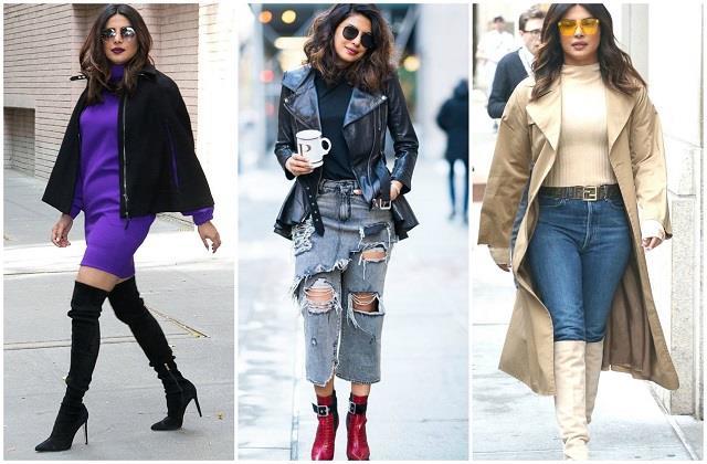 Winter Fashion: प्रियंका की फुटवियर कलेक्शन से सर्दियों में भी दिखें स्टाइलिश