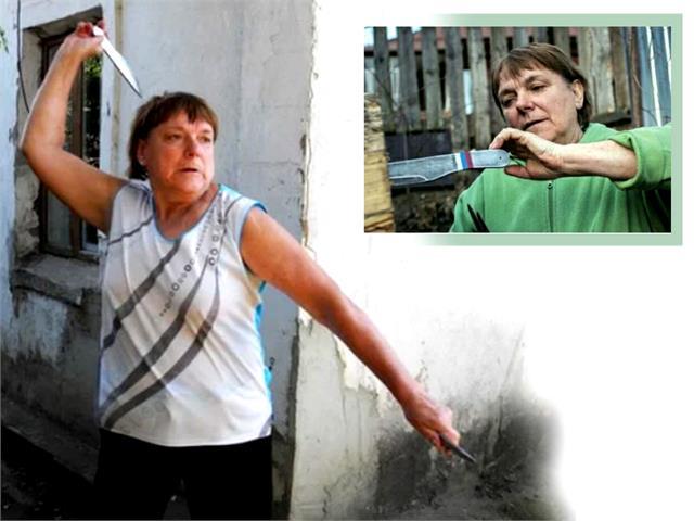 शौक ने बनाया वर्ल्ड चैम्पियन, चाकू-छूरी चलाने में माहिर 68 साल की यह दादी