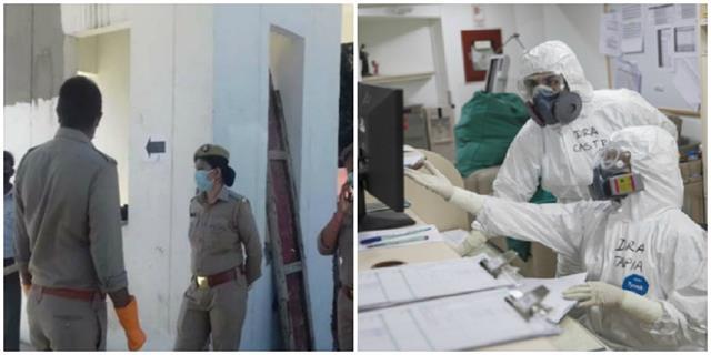 kovid 19 investigation team attacked in shamli district officer injured