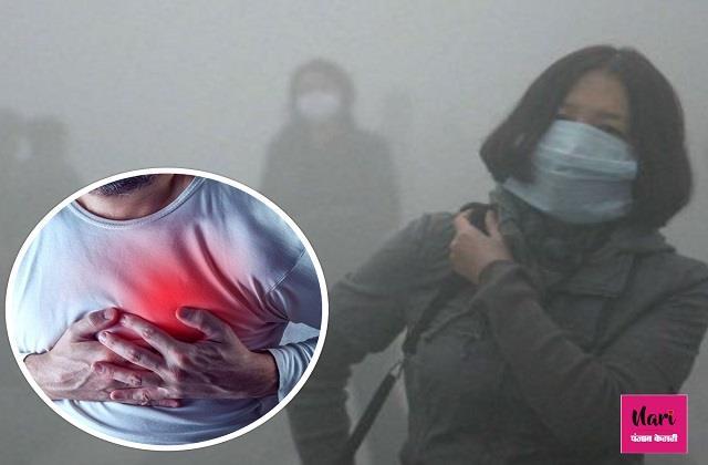 दिल के मरीजों के लिए खतरनाक है Air Pollution, गुनगुना पानी पीएं और व्यायाम जरूर करें