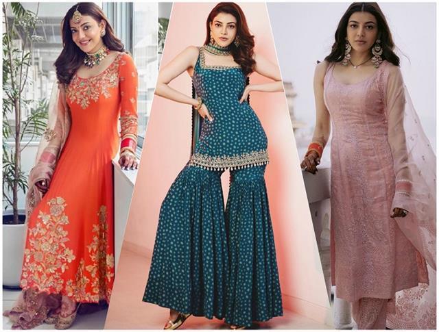 Fashion Update! काजल की 8 डिजाइनर ड्रेस, Newly Brides के लिए बेस्ट