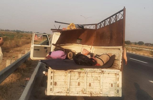 road accident in sonipat