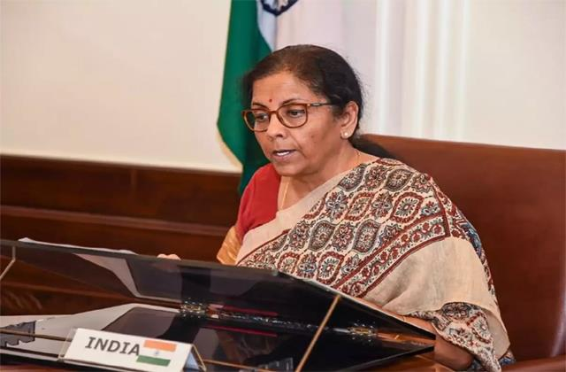 sitharaman asked large central public enterprises to exceed capital